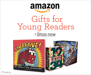 Amazon Banner - Gifts for young reader