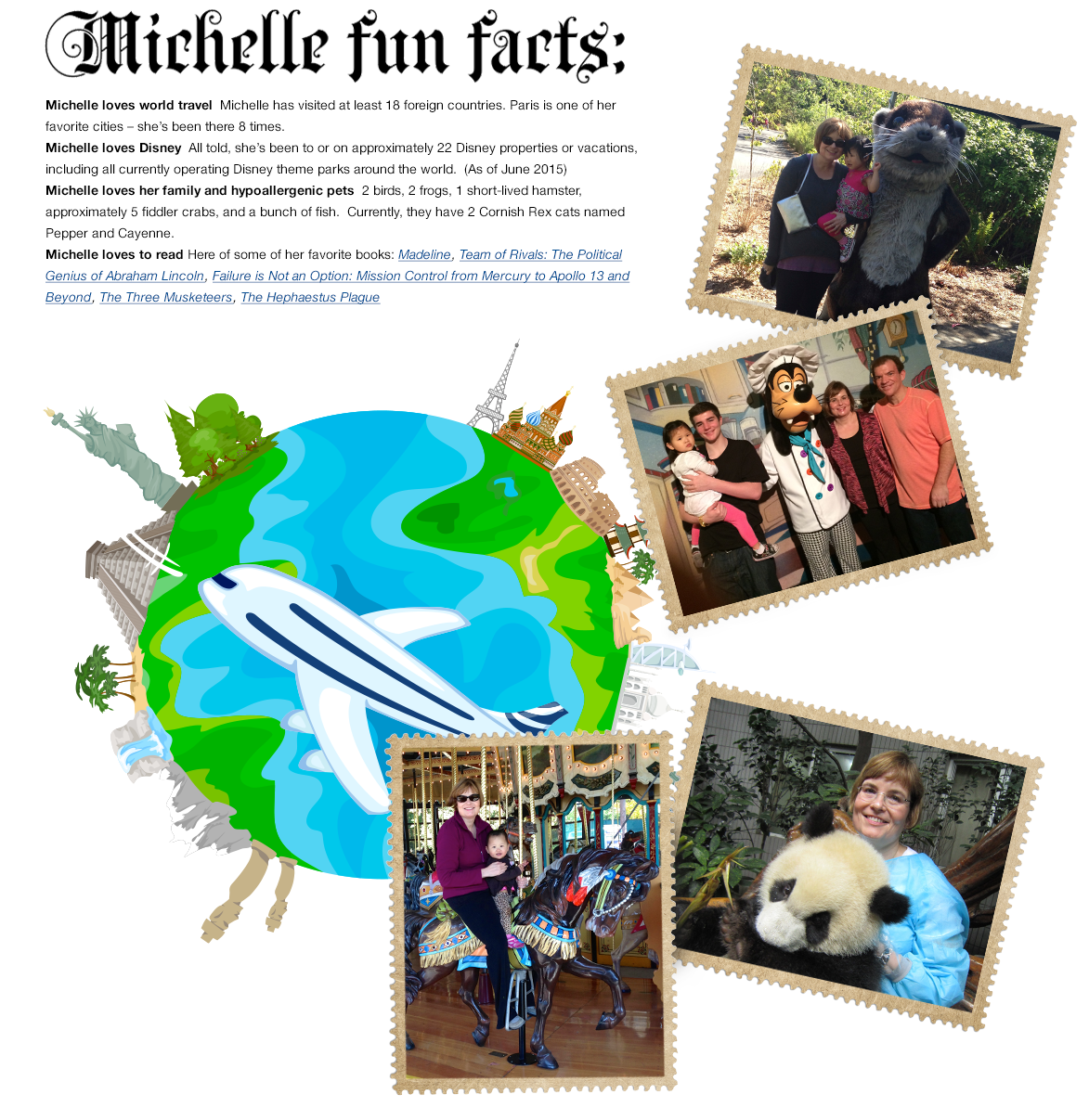 Michelle Wilson Fun Facts