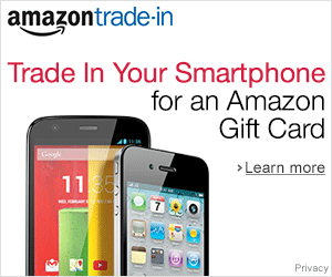 Trade In Your Smartphone for an Amazon Gift Card