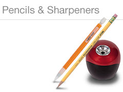 Pencils & Sharpeners