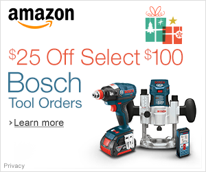 amazon.com sale on Bosch tools