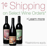 1C Shipping on Select Wines