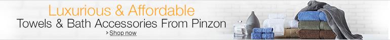 Bath Items from Pinzon
