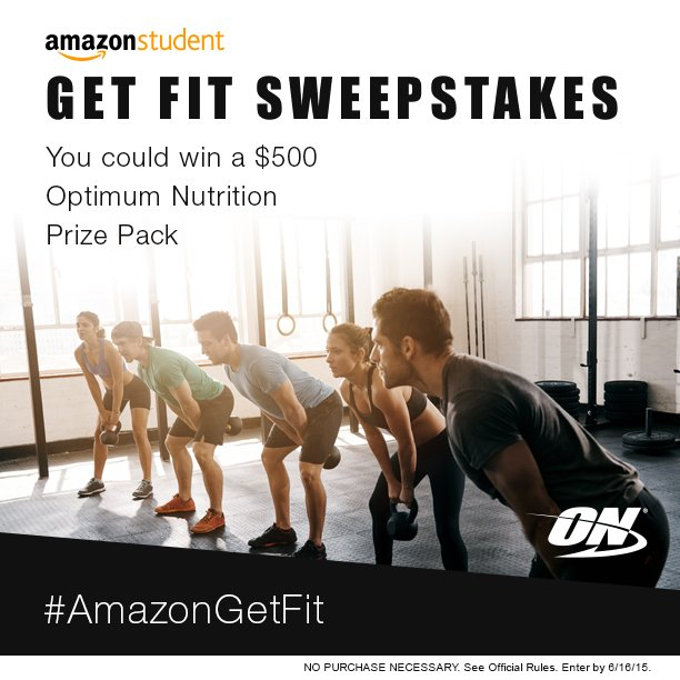 Amazon Get Fit Sweepstakes