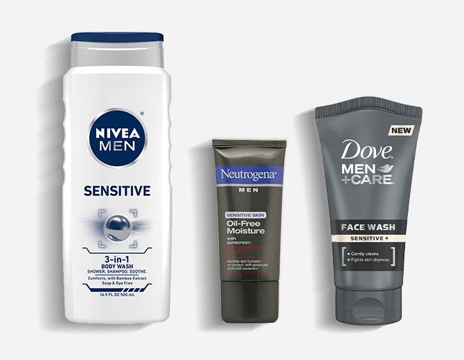 mens skin care system