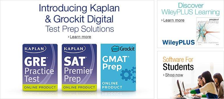 Introducing Kaplan and Grockit Digital Test Prep