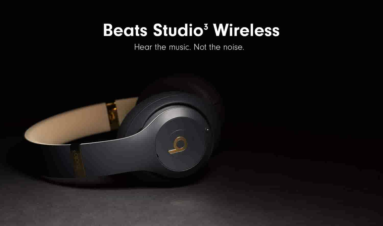 Beats Studio3 Wireless: Hear the music. Not the noise.