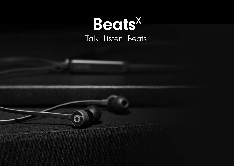 40cf2430806 Amazon.com: BeatsX Earphones - Black