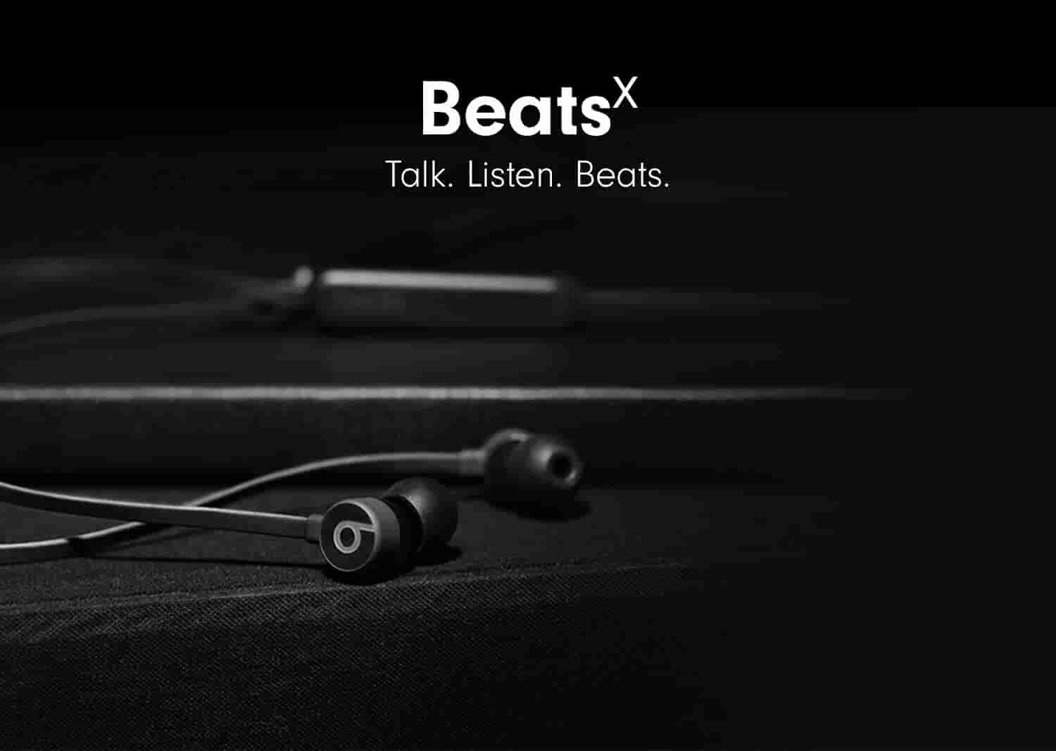 BeatsX. Talk. Listed. Beats.