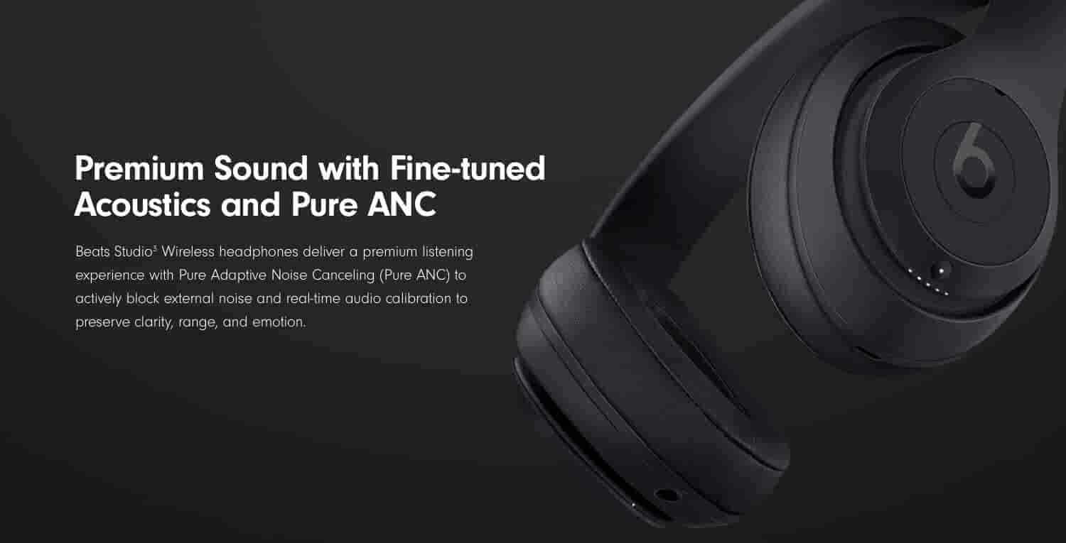 Premium Sound with Fine-tuned acoustics and Pure ANC