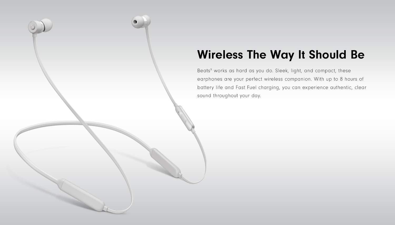 BeatsX Wireless Earphones - Black on