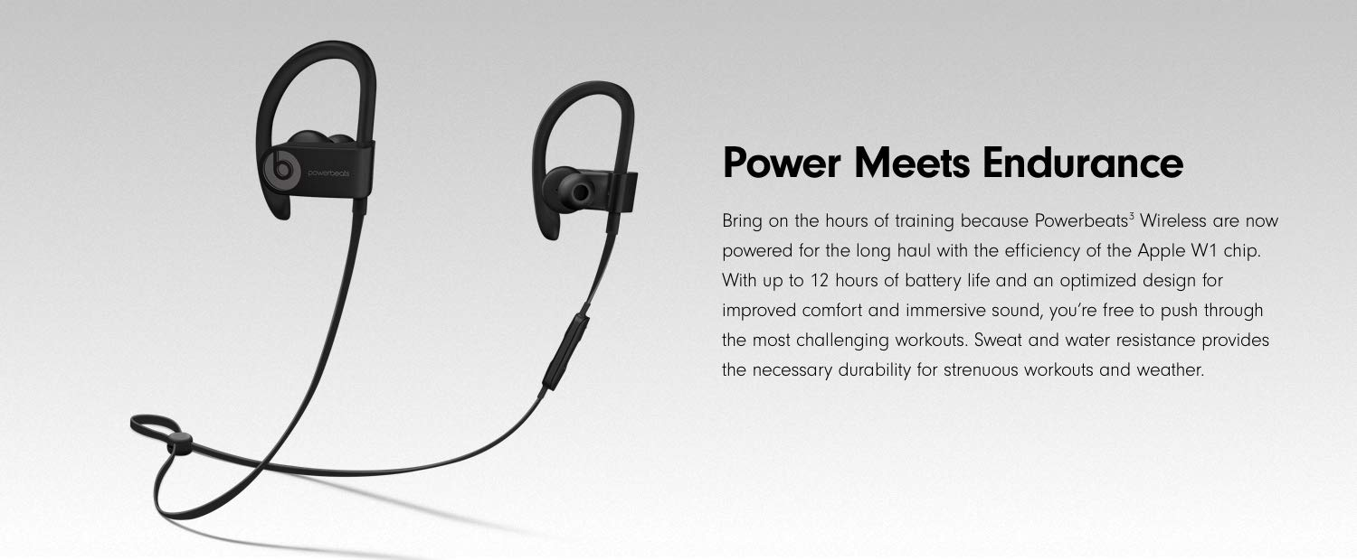 edf6c244dd8 Amazon.com: Powerbeats3 Wireless Earphones - White