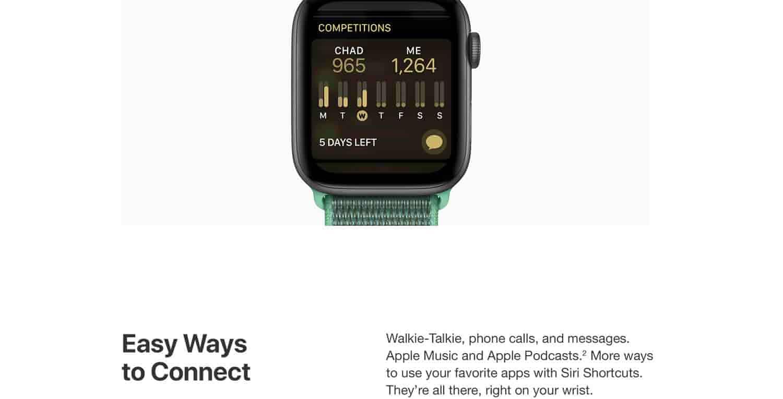 Amazon.com: Apple Watch Series 4 (GPS, 40mm) - Silver
