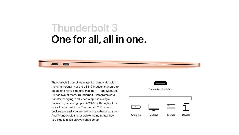 Apple MacBook Air (13-inch Retina display, 1.6GHz dual-core Intel Core i5, 256GB) - Space Gray (Previous Model)