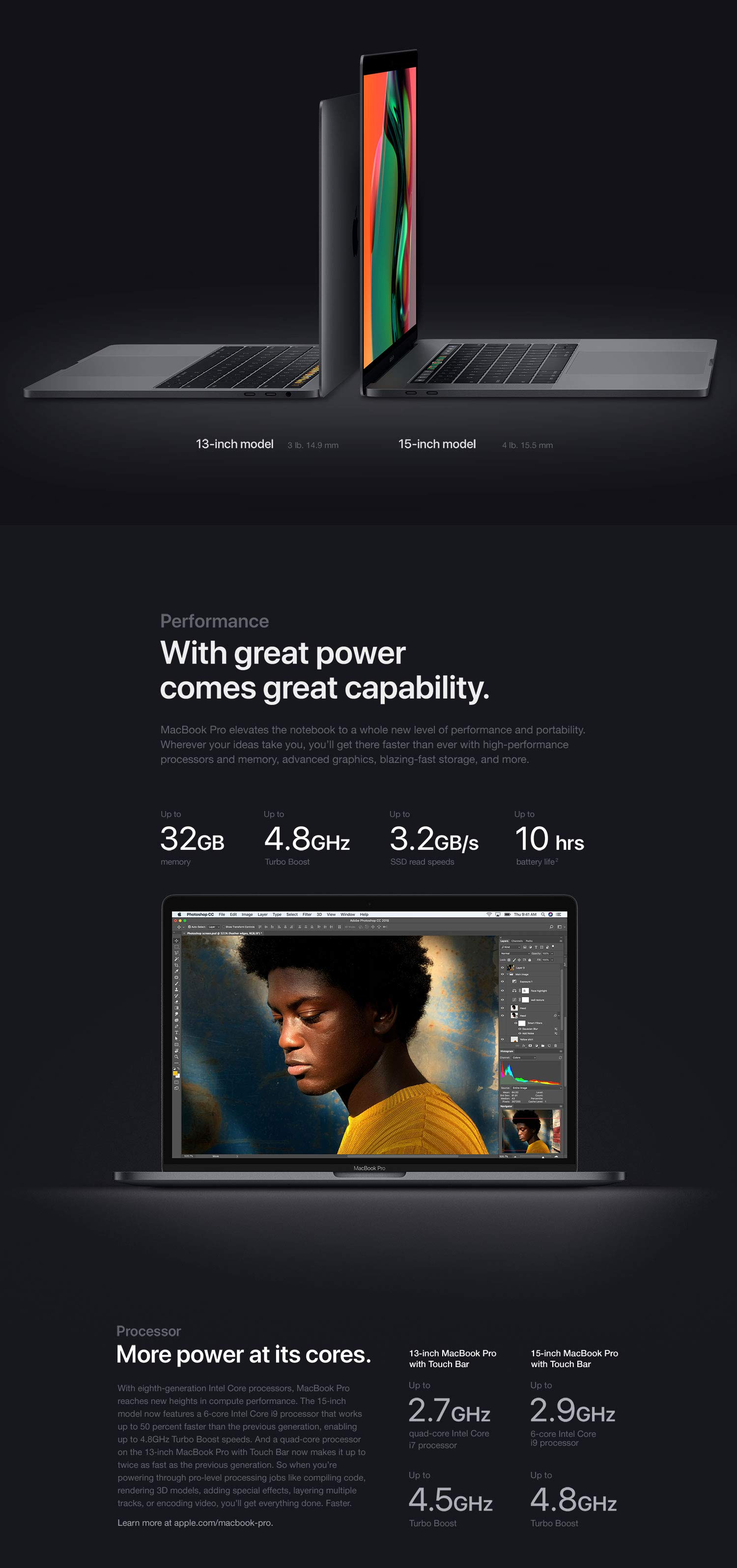 Apple MacBook Pro (13-inch, Touch Bar, 2 3GHz Quad-Core Intel Core i5, 8GB  RAM, 512GB SSD) - Space Gray (MR9R2LL/A)