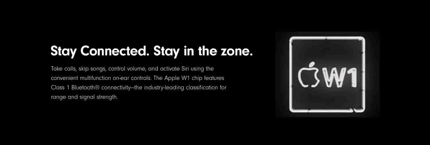 Stay Connected. Stay in the zone.
