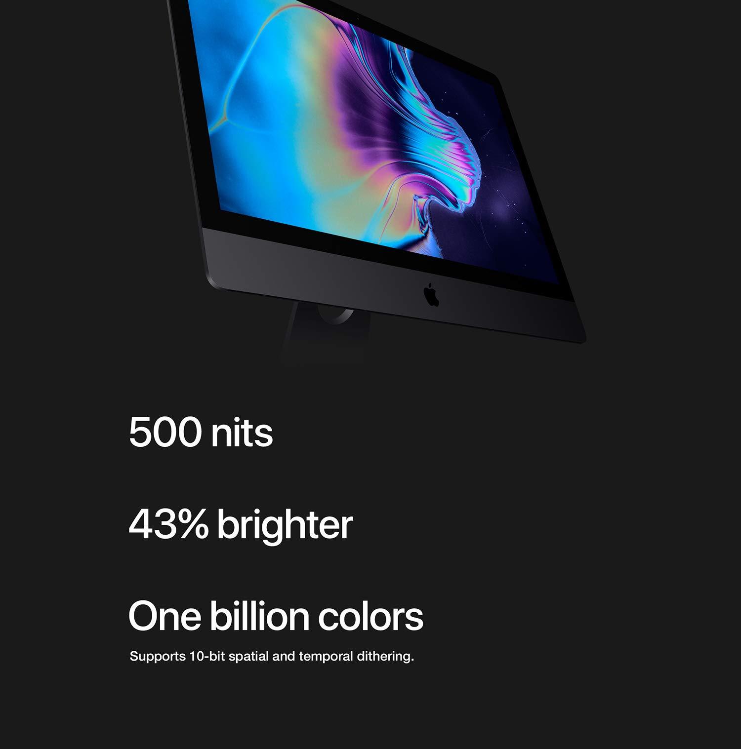 Apple iMac Pro (27-inch with Retina 5K Display, 3 2GHz 8-core Intel Xeon W,  32GB RAM, 1TB SSD) - Space Gray