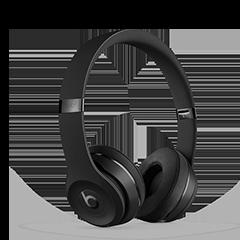 881832fe3e2 Amazon.com: Beats Solo3 Wireless On-Ear Headphones - Matte Black