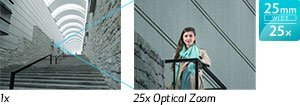 PowerShot SX620 HS: 25x optical zoom