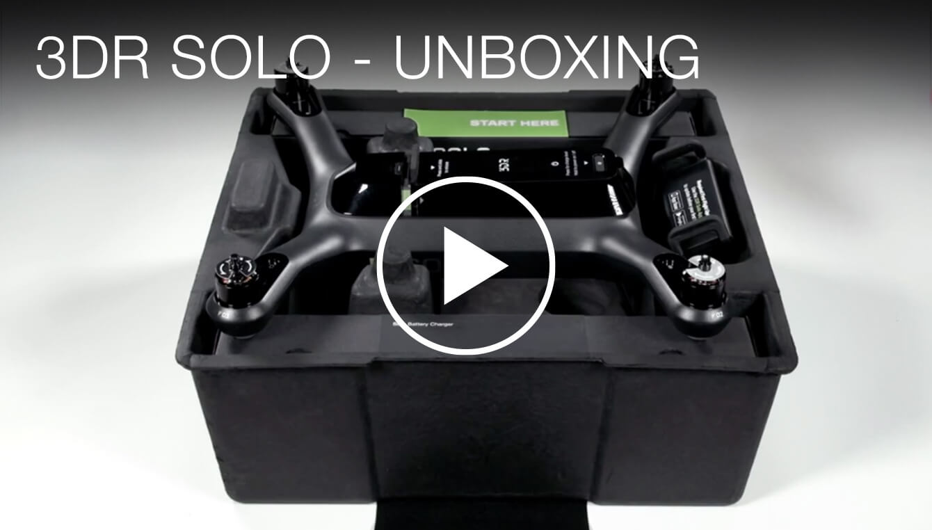 3DR Solo Unboxing
