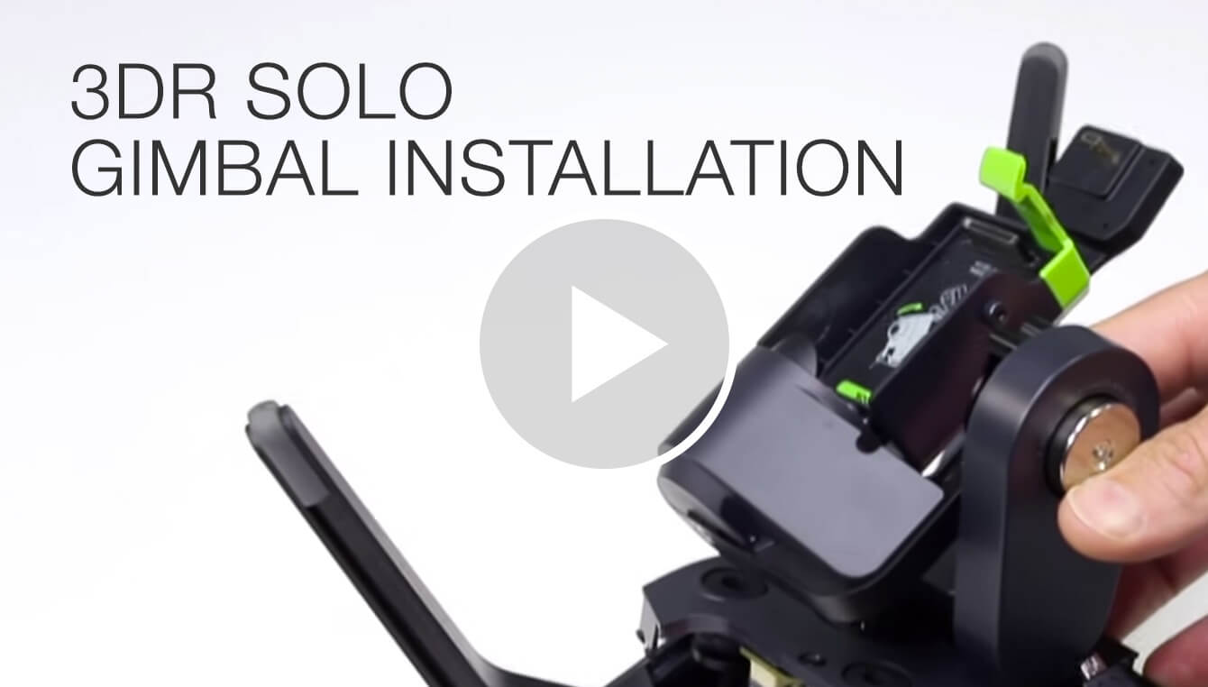 3DR Solo Gimbal Installation
