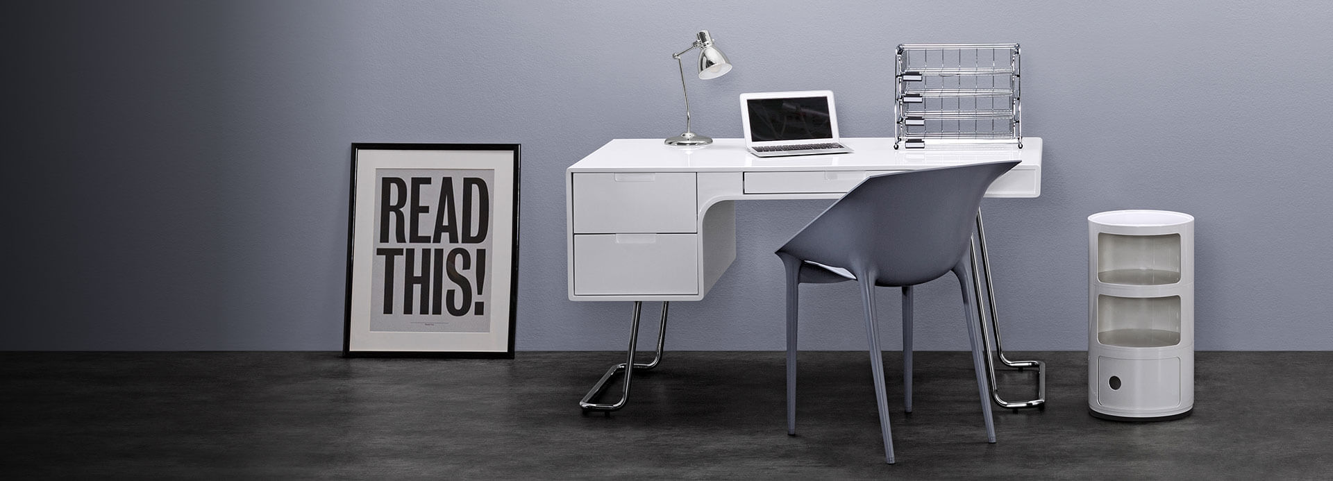 Oak office desk benefits for home office - White Office Desks