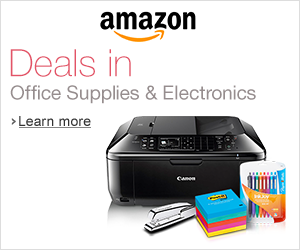 Office Supply and Electronic Deals From Amazon