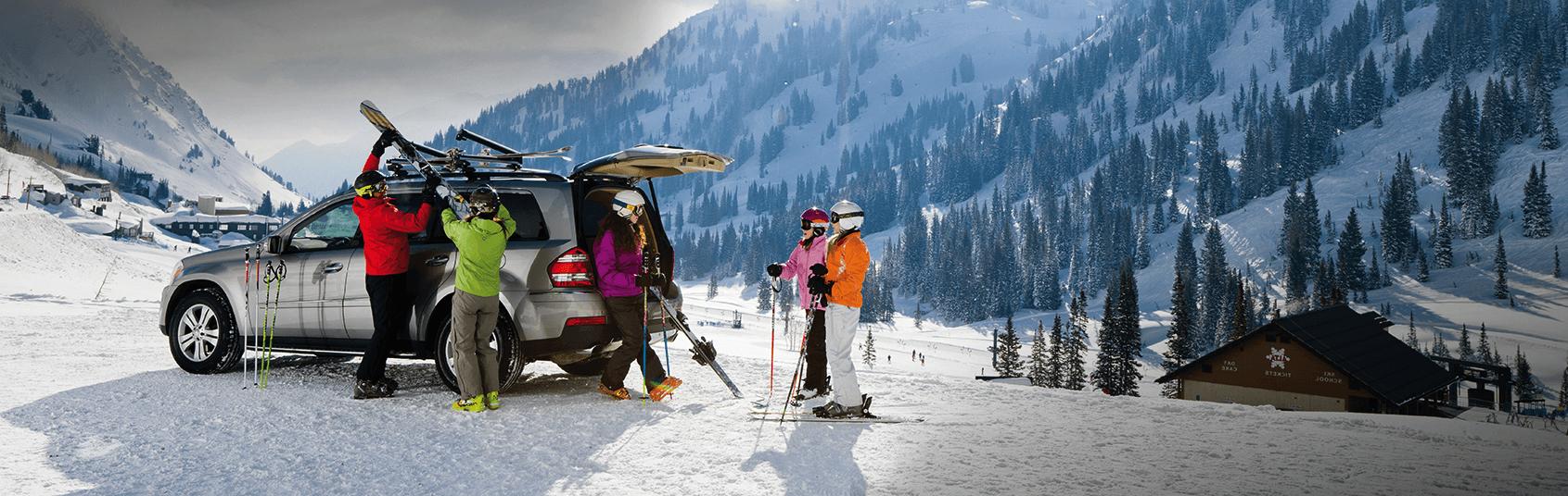 Ski & Snowboard Car Racks