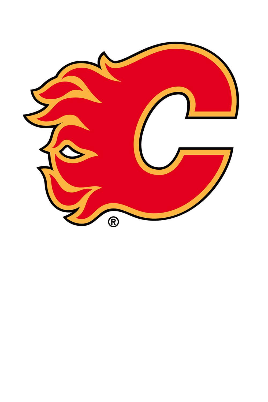 Calgary Flames Logo Free Coloring
