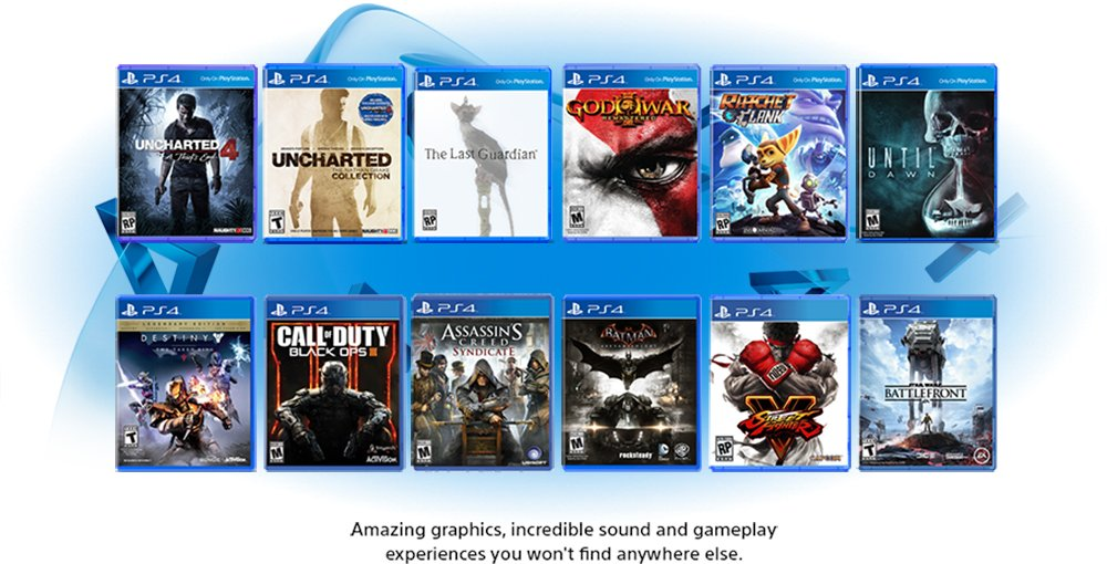 Exclusive Games for PlayStation 4