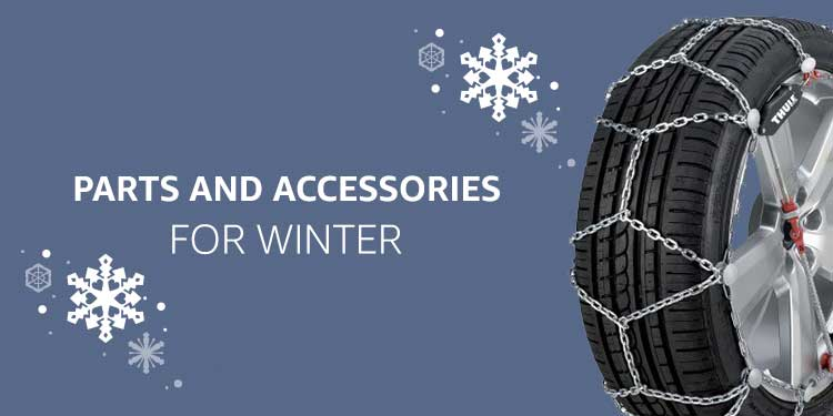 Parts and Accessories for winter