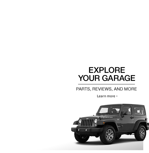 Find parts and accessories for your vehicle with Your Garage