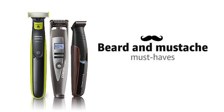 Beard and Mustache must-haves