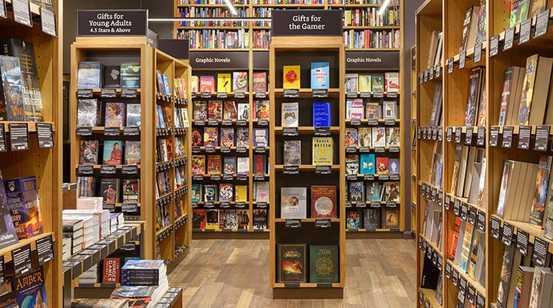 Amazon books bookstores in seattle san diego portland for Furniture u village seattle