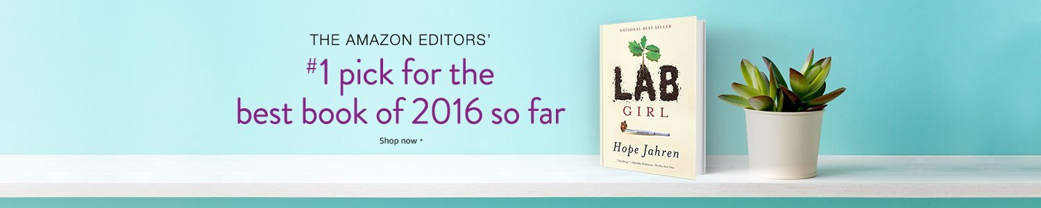 The Amazon Editors' #1 pick for the best book of 2016 so far