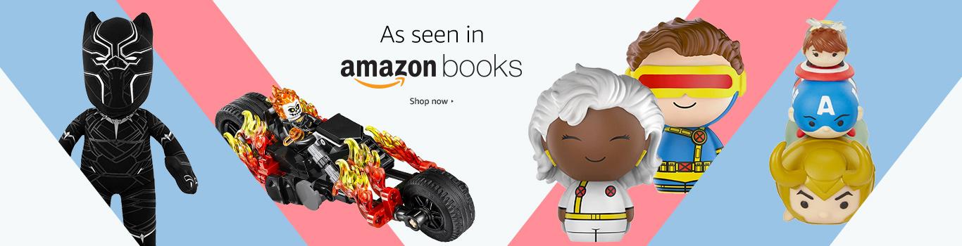 As seen in Amazon Books