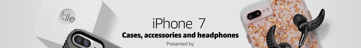 iPhone 7 Cases, Accessories & Bluetooth Headphones
