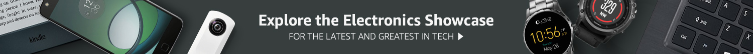 Explore the Electronics Showcase for the latest and greatest in tech
