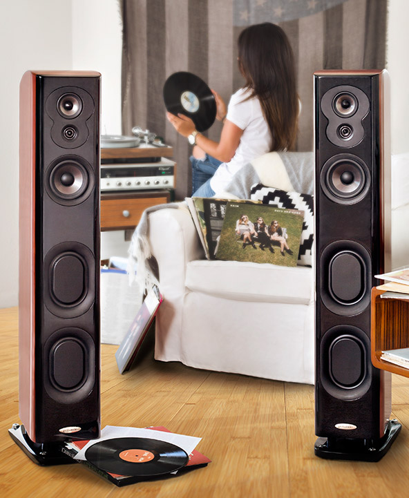 Floorstanding speakers from featured brands