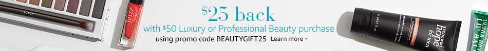 Luxury Beauty Bounceback Promotion