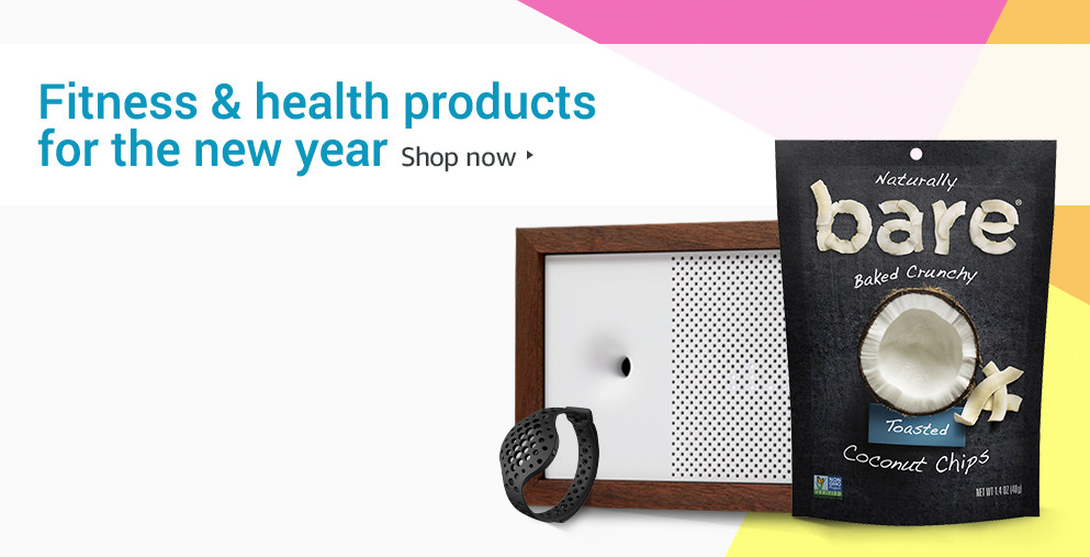 Fitness & health products for the new year