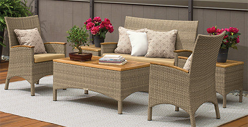 Patio Furniture Entertaining Sets