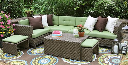 Patio Seating Arrangements - Patio Furniture & Accessories : Amazon.com