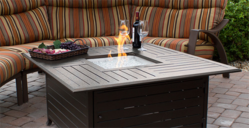 Outdoor Fire Places. Fire Tables
