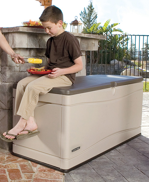 Storage Benches - Outdoor Storage : Patio, Lawn & Garden : Amazon.com