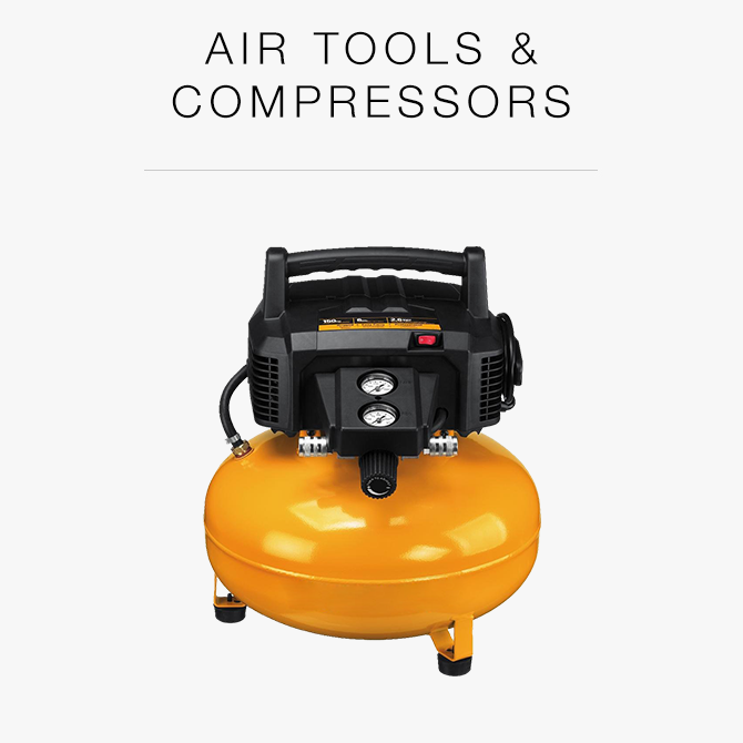 Air tools and compressors