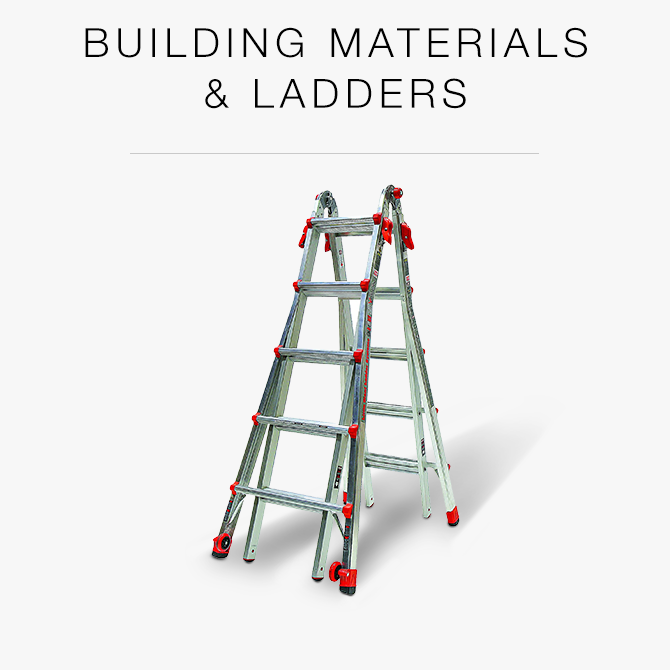 Building Materials and Ladders