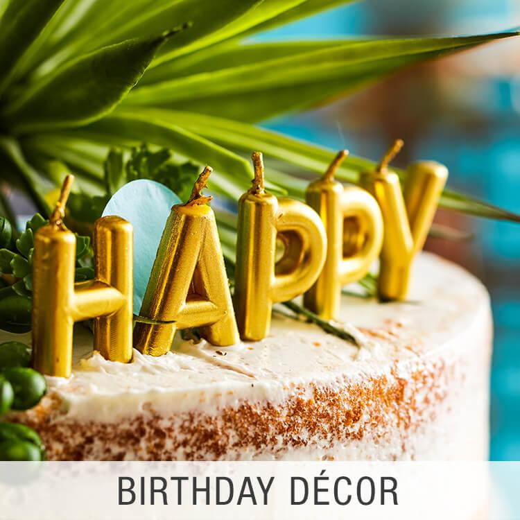 Birthday Décor