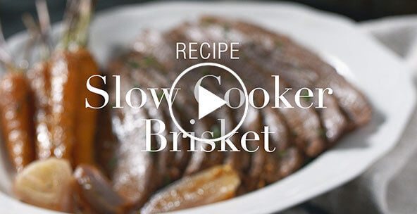 SLOW COOKER BRISKET
