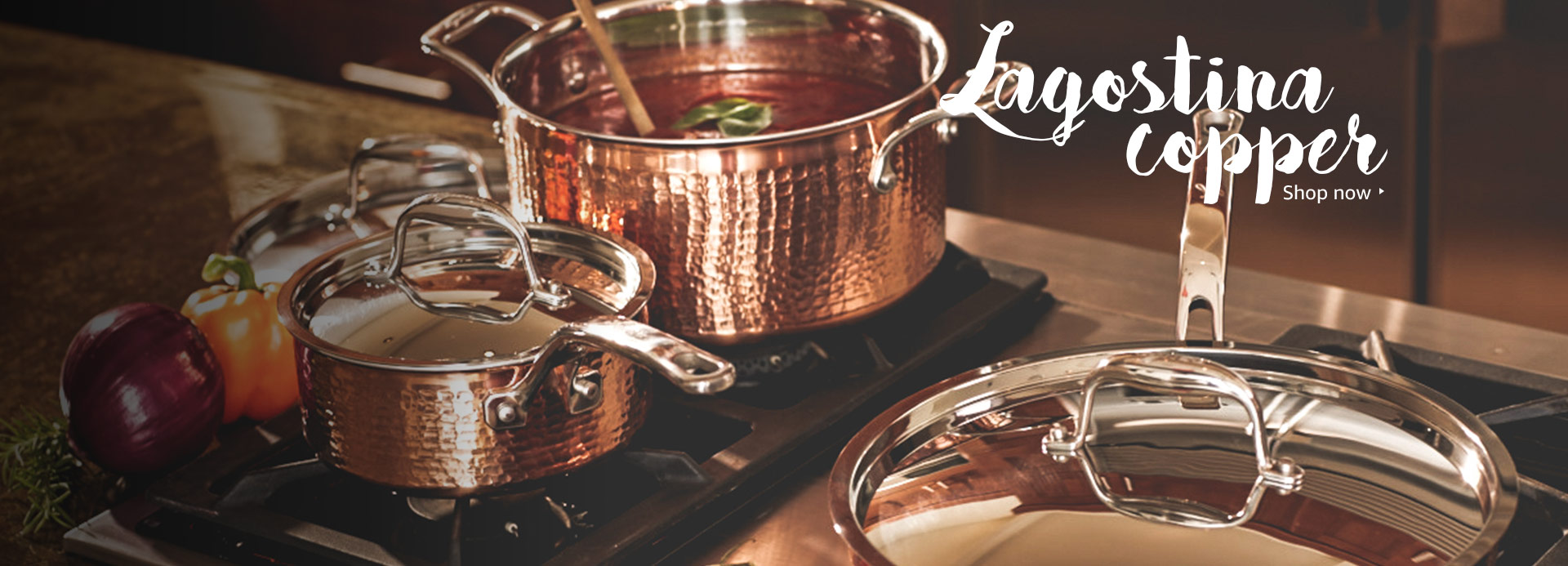 Lagostina Copper, Cookware